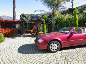 Constantia Vista - Cape Town - South Africa - Mercedes Car Hire - click for larger image